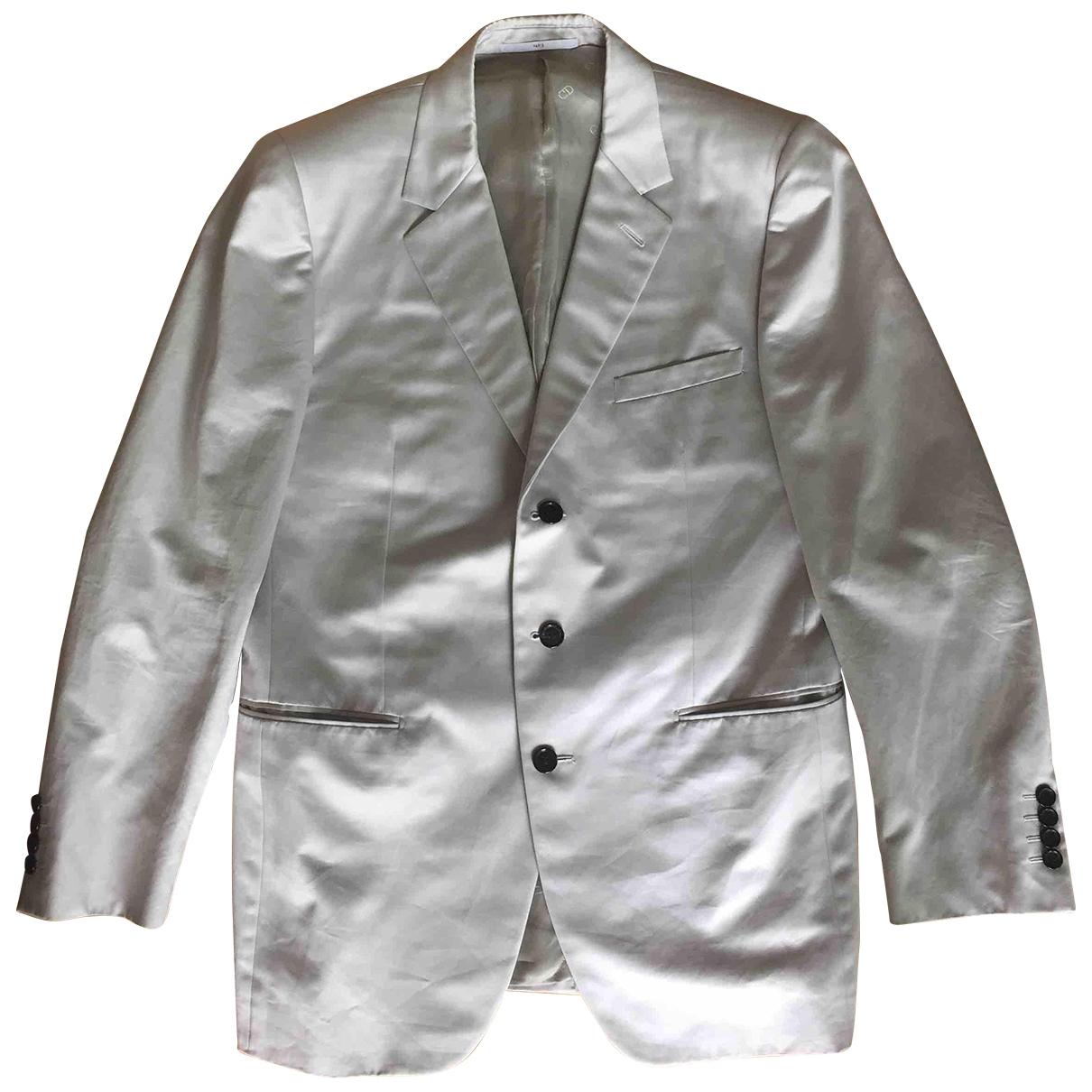 Dior \N Jacke in  Grau Baumwolle
