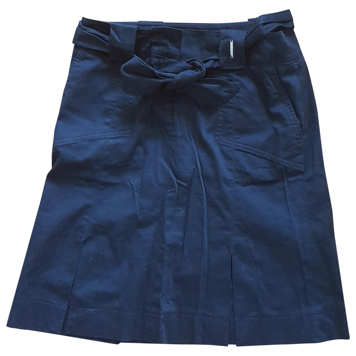 Guess \N Black Cotton skirt for Women 44 IT