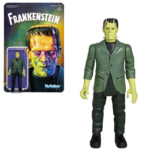 Universal Monsters Frankenstein 3 3/4-inch ReAction Figure