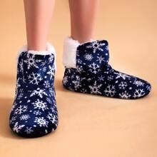 Calcetines de piso de navidad
