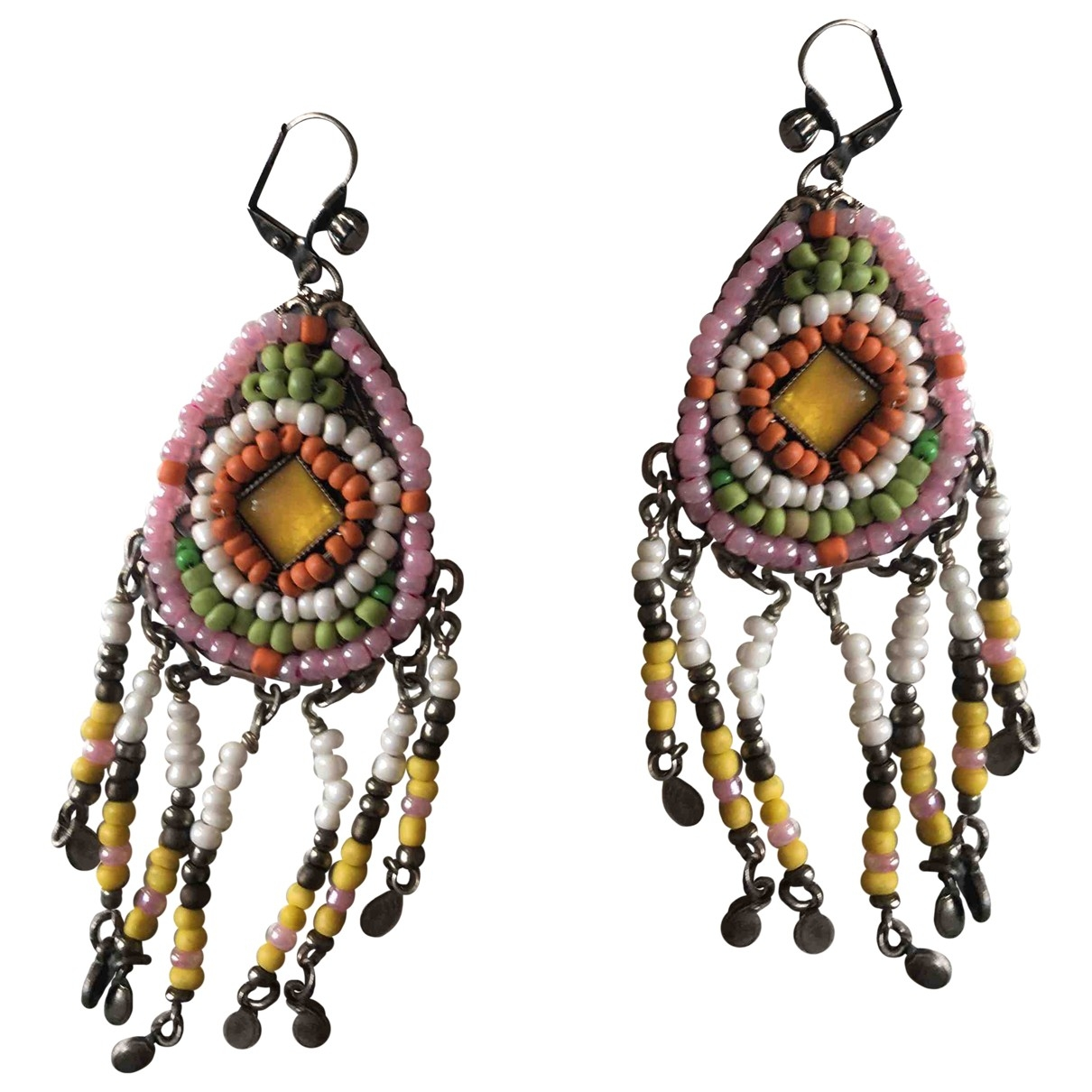 Reminiscence \N Multicolour Steel Earrings for Women \N