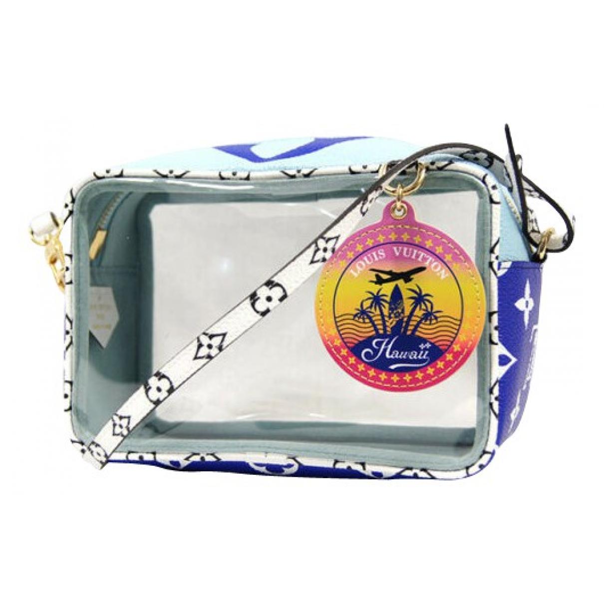 Louis Vuitton Beach Blue Cloth handbag for Women N