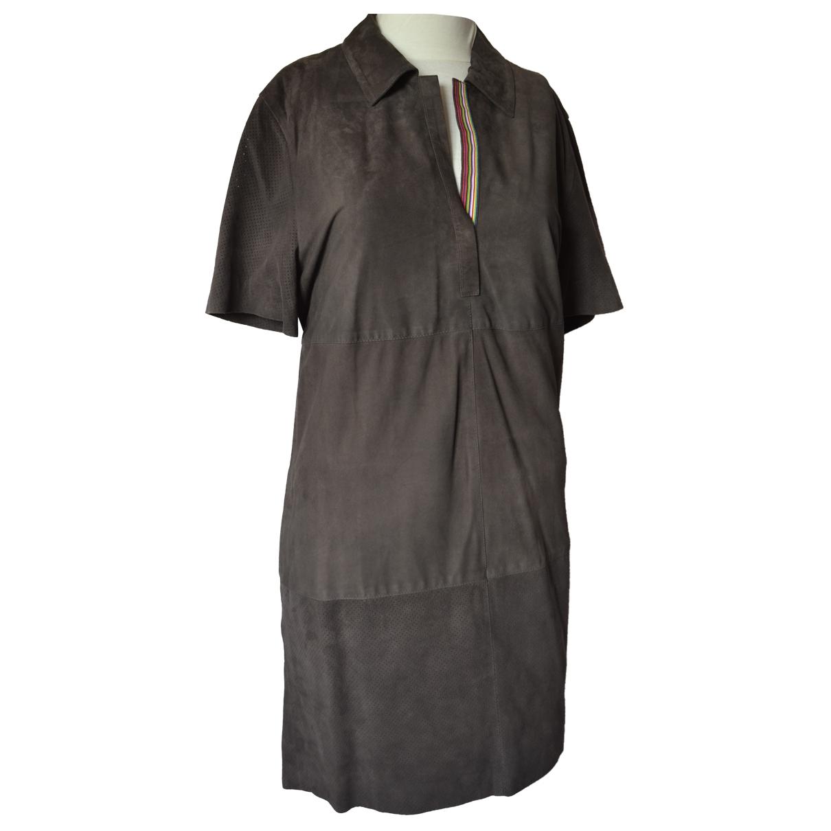 Vestido de Cuero Faconnable