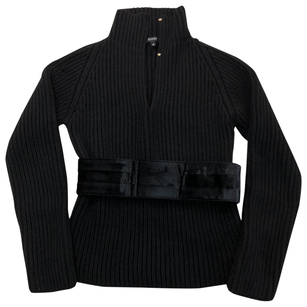 Gucci \N Pullover in  Schwarz Wolle