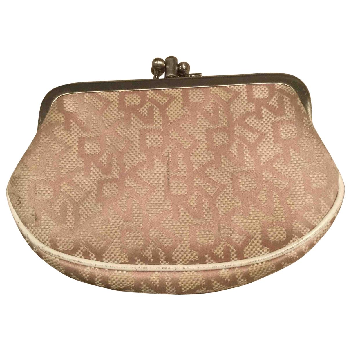 Dkny \N Beige Cotton Purses, wallet & cases for Women \N