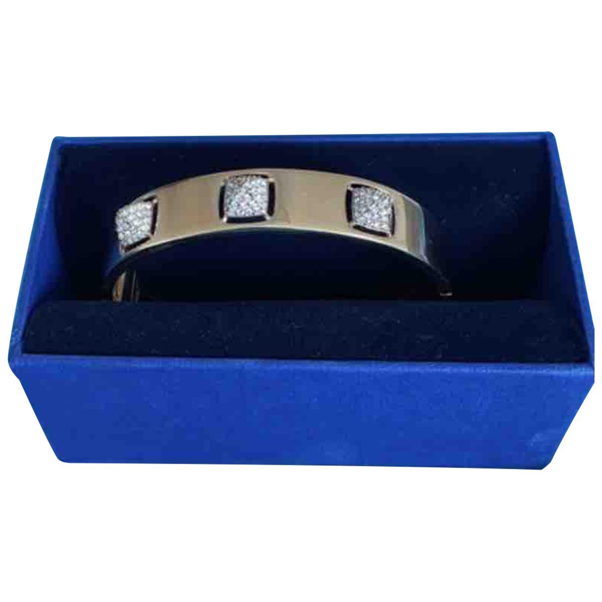 Swarovski - Bracelet   pour femme en plaque or - dore