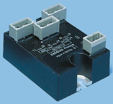 Celduc 12 A Solid State Relay, Zero Crossing, Panel Mount, Triac, 440 V rms Maximum Load