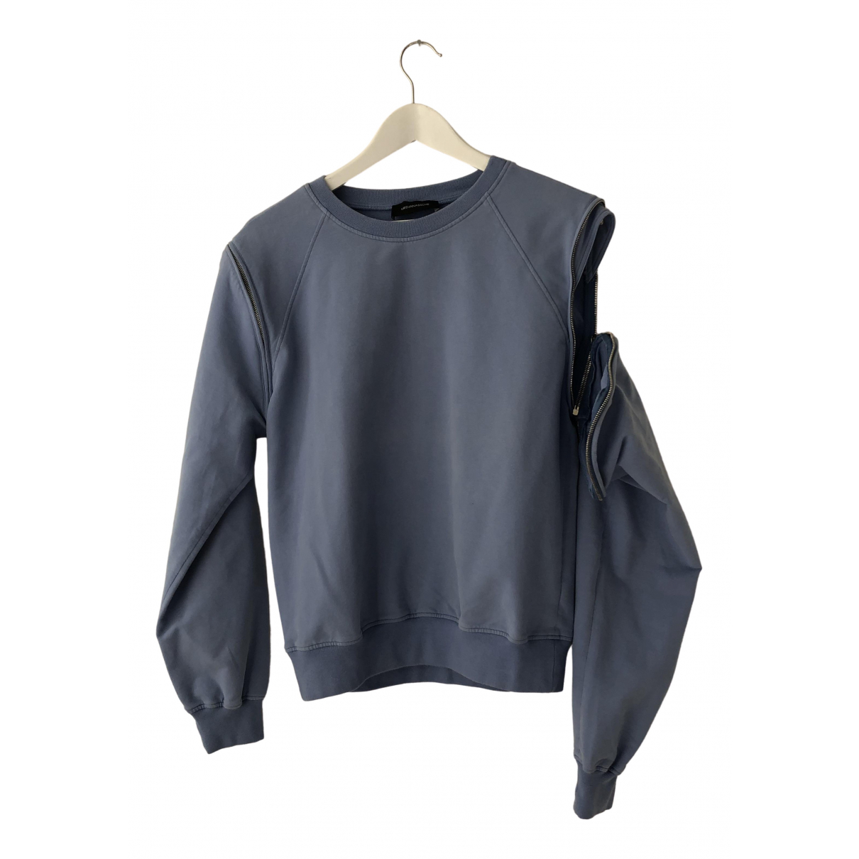 Kris Van Assche \N Pullover.Westen.Sweatshirts  in  Blau Baumwolle