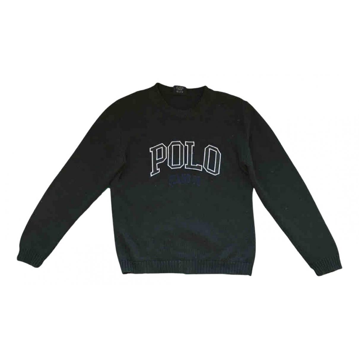 Polo Ralph Lauren - Pulls.Gilets.Sweats   pour homme en coton - vert