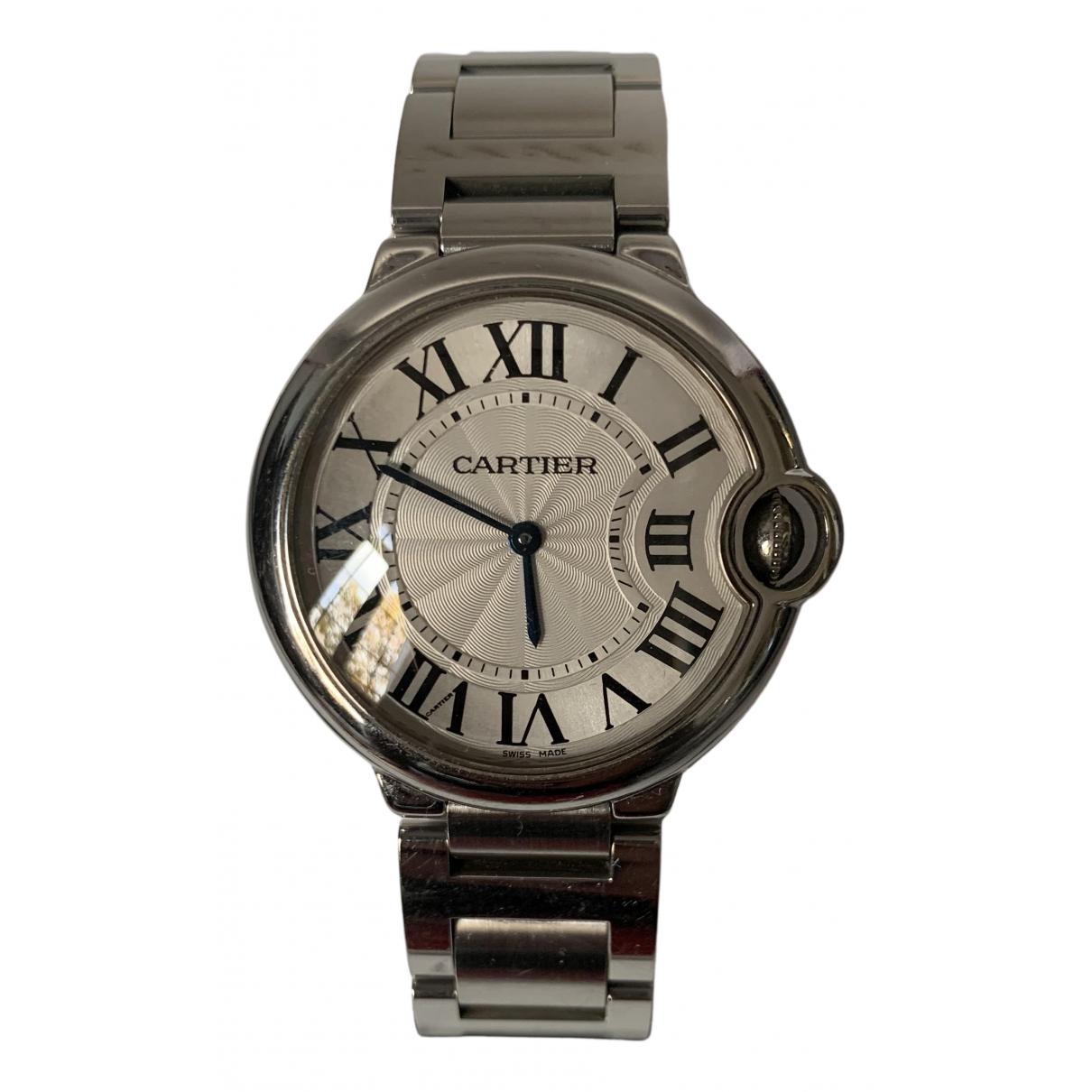 Cartier Ballon bleu White Steel watch for Women N