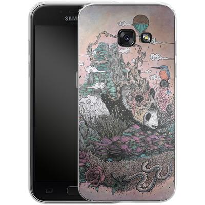 Samsung Galaxy A3 (2017) Silikon Handyhuelle - Land Of The Sleeping Giant von Mat Miller