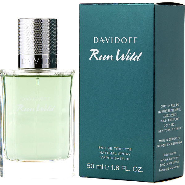 Run Wild - Davidoff Eau de Toilette Spray 50 ml