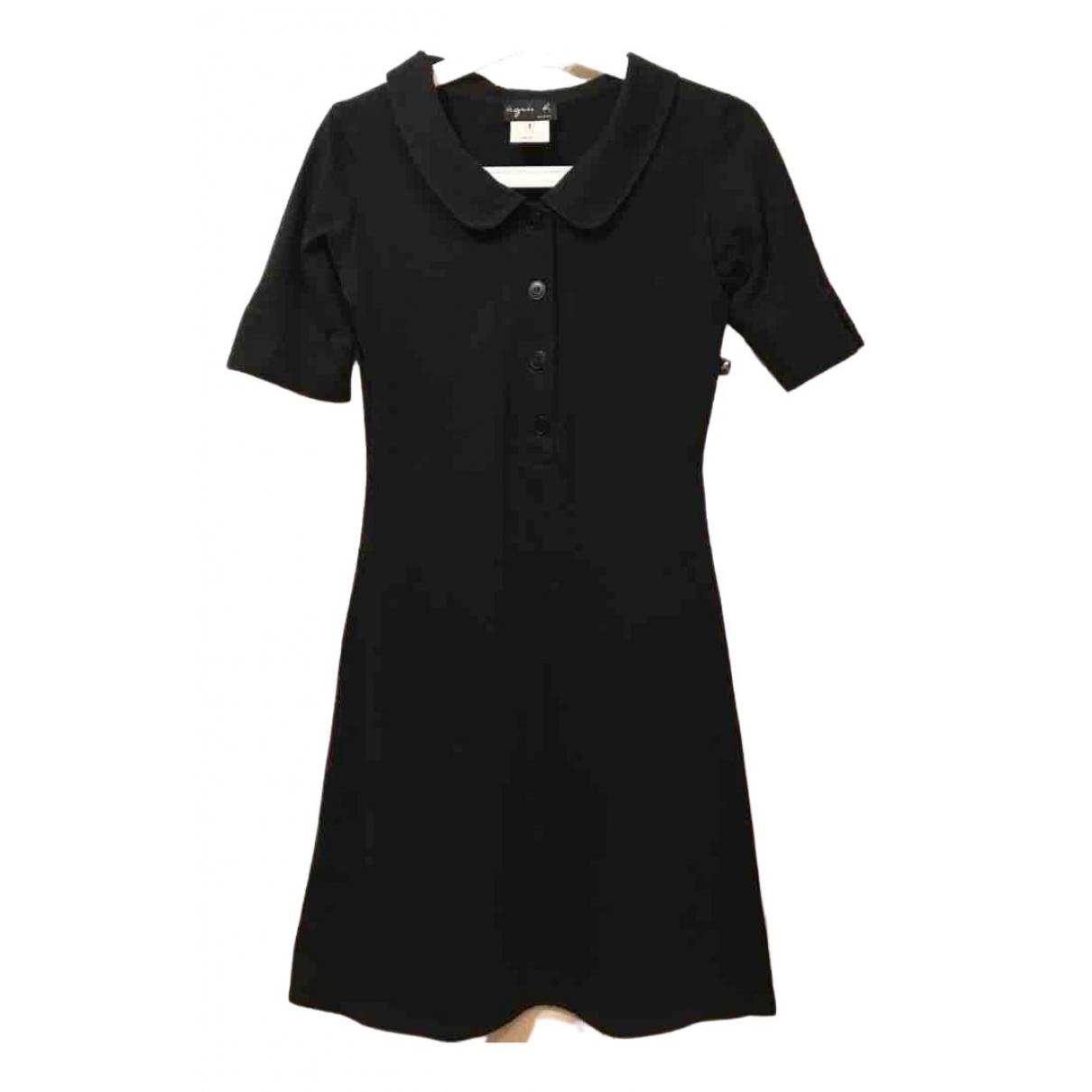 Agnes B. - Robe   pour femme en coton - noir