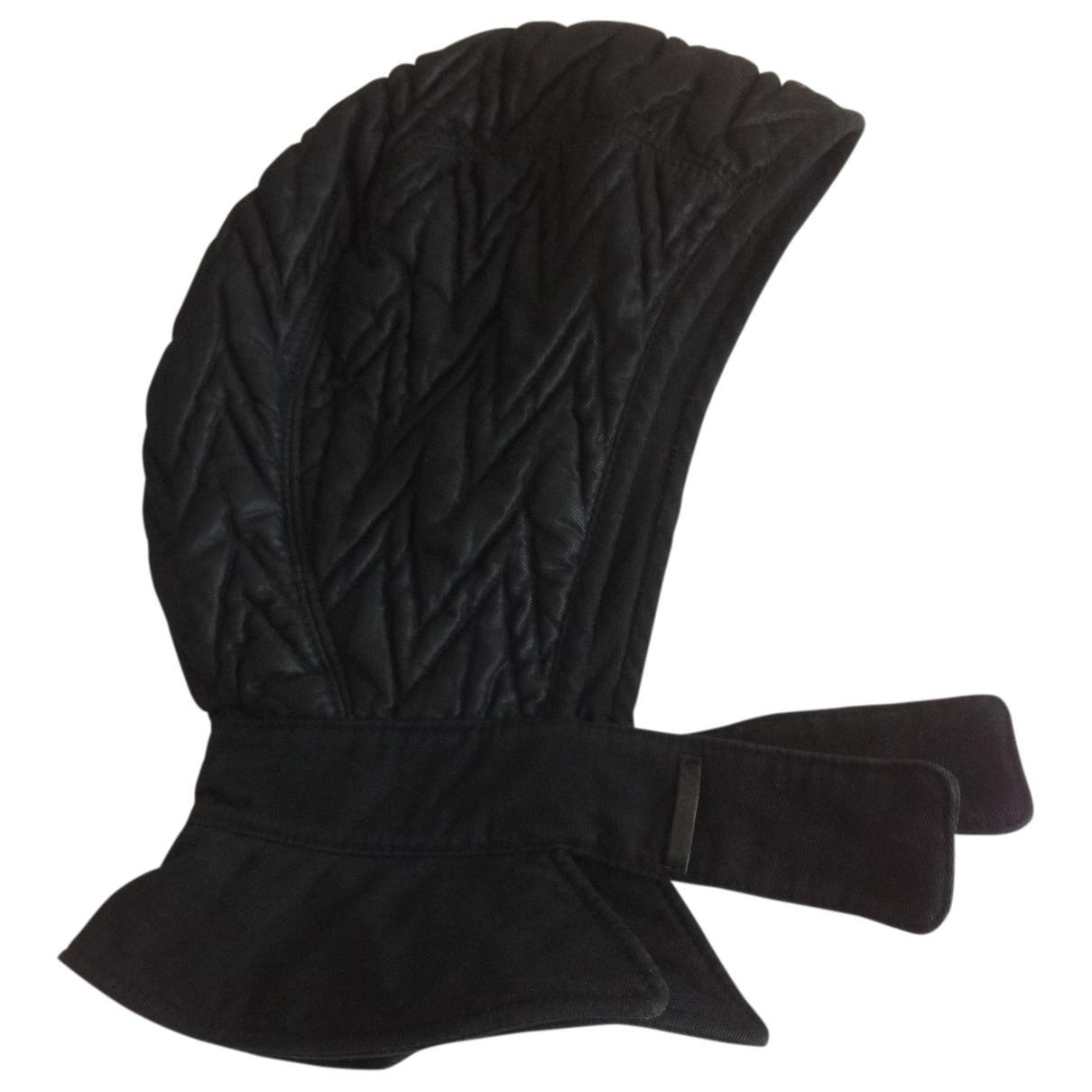 Emporio Armani - Chapeau & Bonnets   pour homme - noir