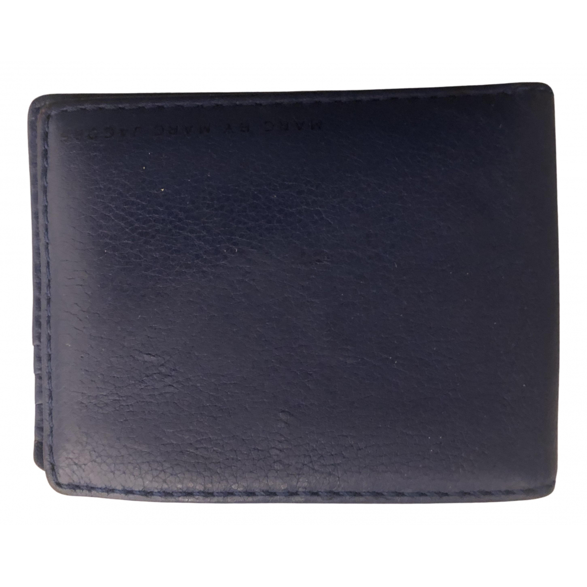 Marc By Marc Jacobs N Blue Leather Small bag, wallet & cases for Men N