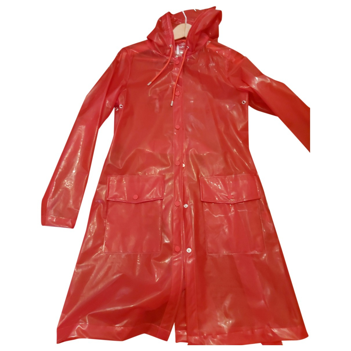 Rains \N Red Trench coat for Women XS International