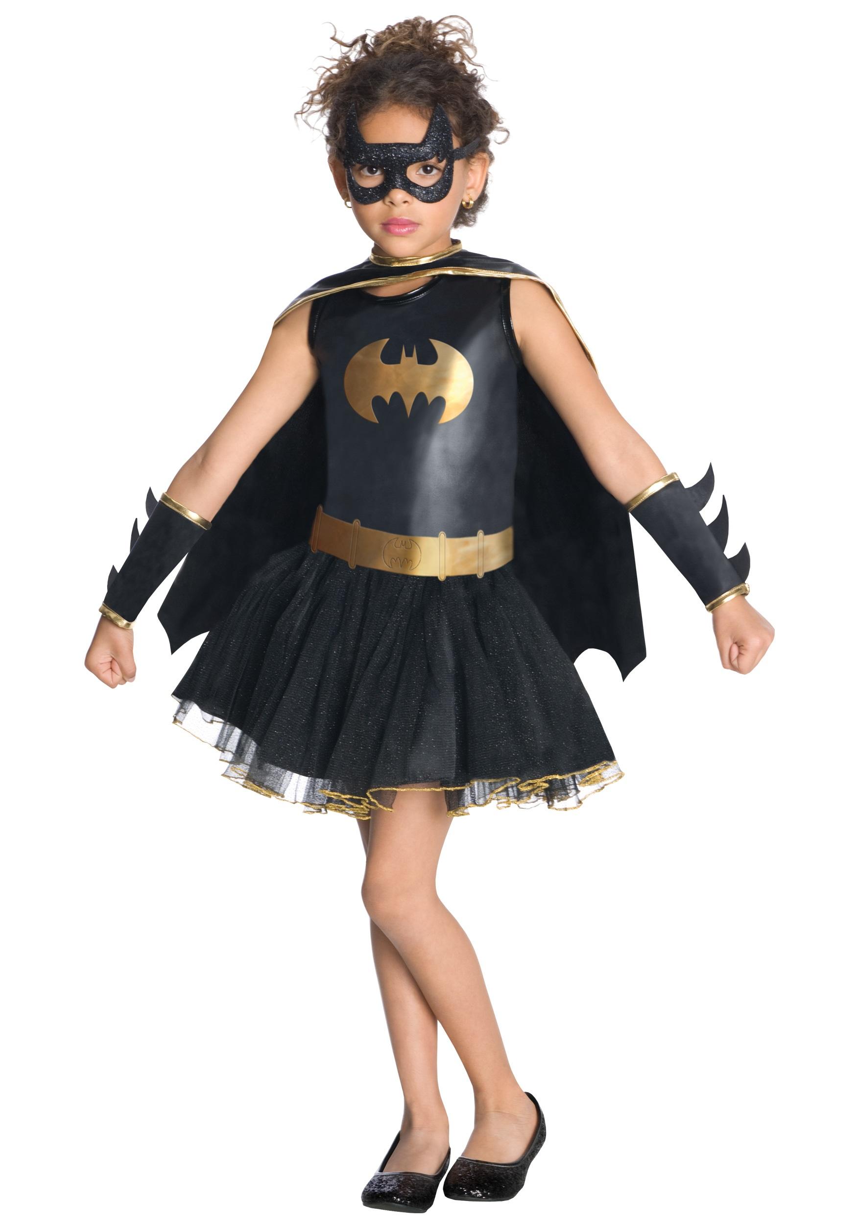 Superhero Batgirl Tutu Costume for Girls