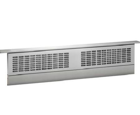 UVB36SKSS 36 Downdraft Hood with 370 CFM  4 Speed Fan  Telescopic Hood  Removable Grease Filter  in Stainless