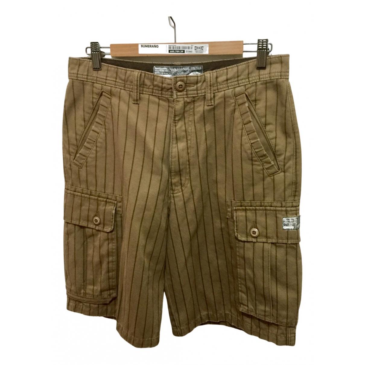Vans \N Shorts in  Braun Baumwolle