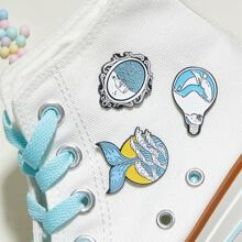 3pcs Fish Design Brooch