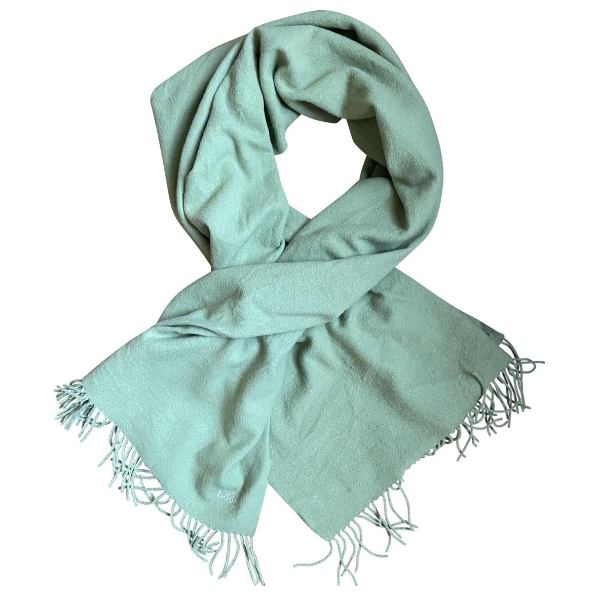 Dior - Foulard   pour femme en laine - vert