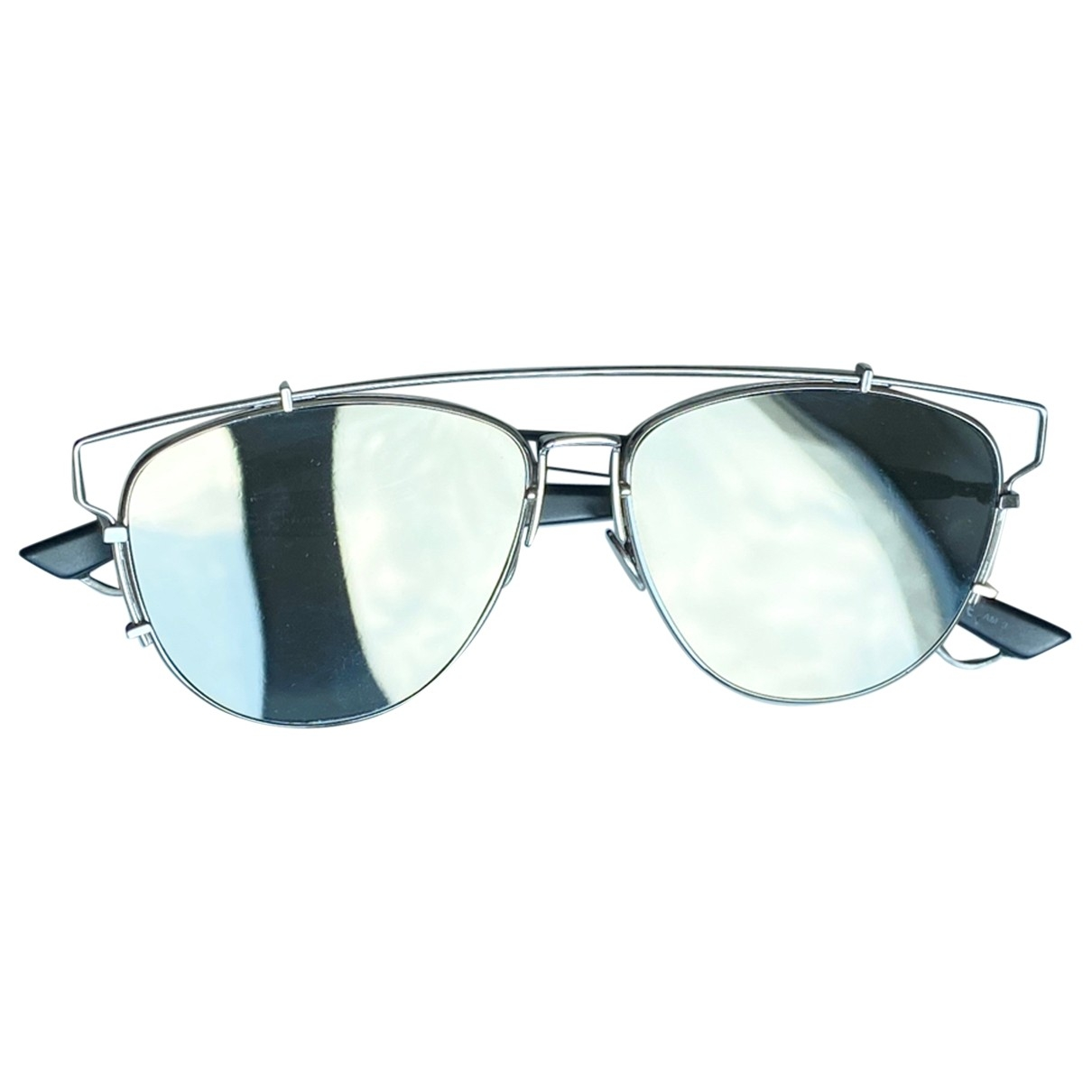 Dior Technologic Silver Metal Sunglasses for Women \N