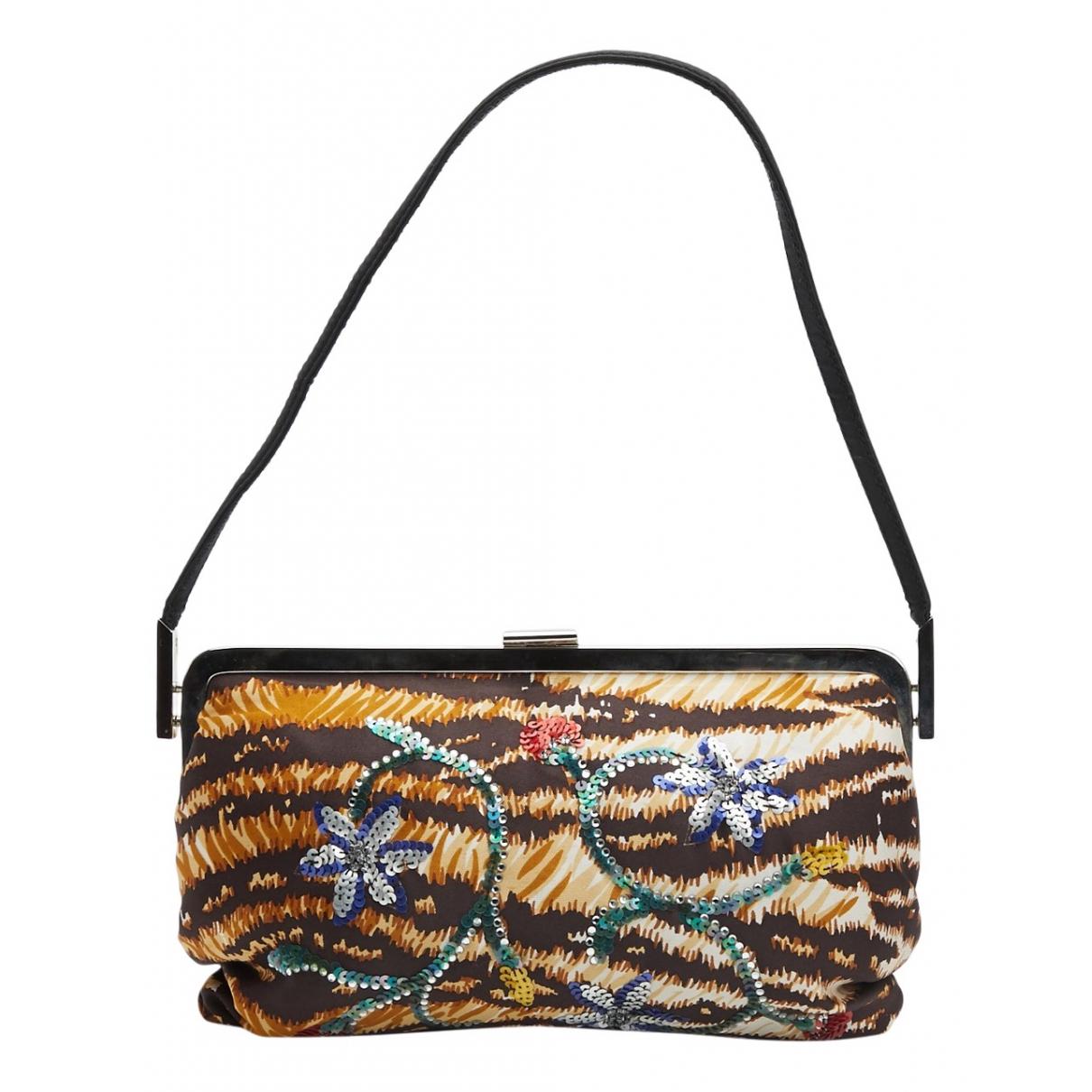 Dolce & Gabbana \N Clutch in  Bunt Leinen