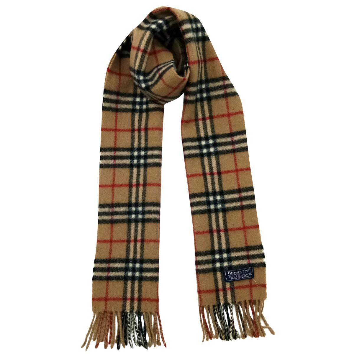 Burberry \N Wool scarf & pocket squares for Men \N