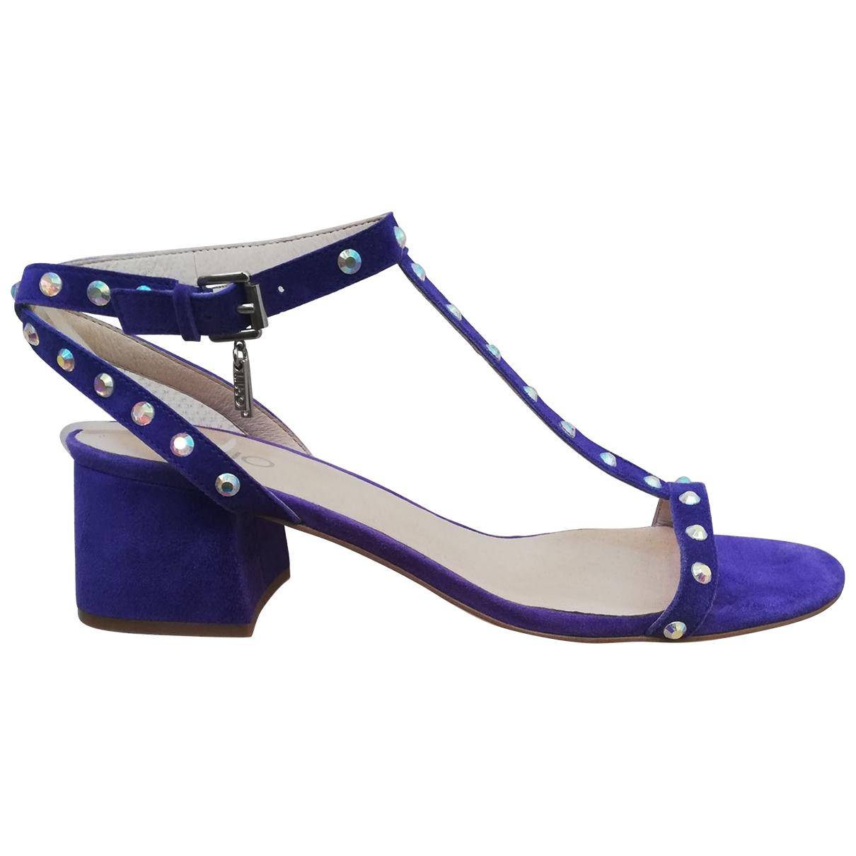 Liu.jo \N Blue Suede Sandals for Women 40 IT