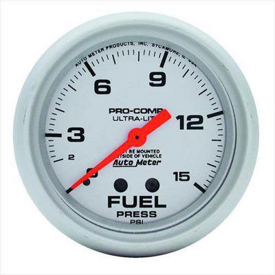 Auto Meter Ultra-Lite Mechanical Fuel Pressure Gauge - 4411