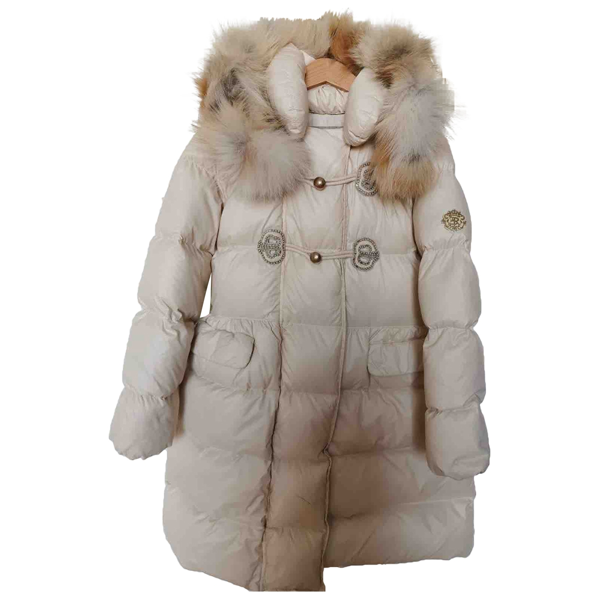 Ermanno Scervino \N Jacke, Maentel in  Weiss Polyester