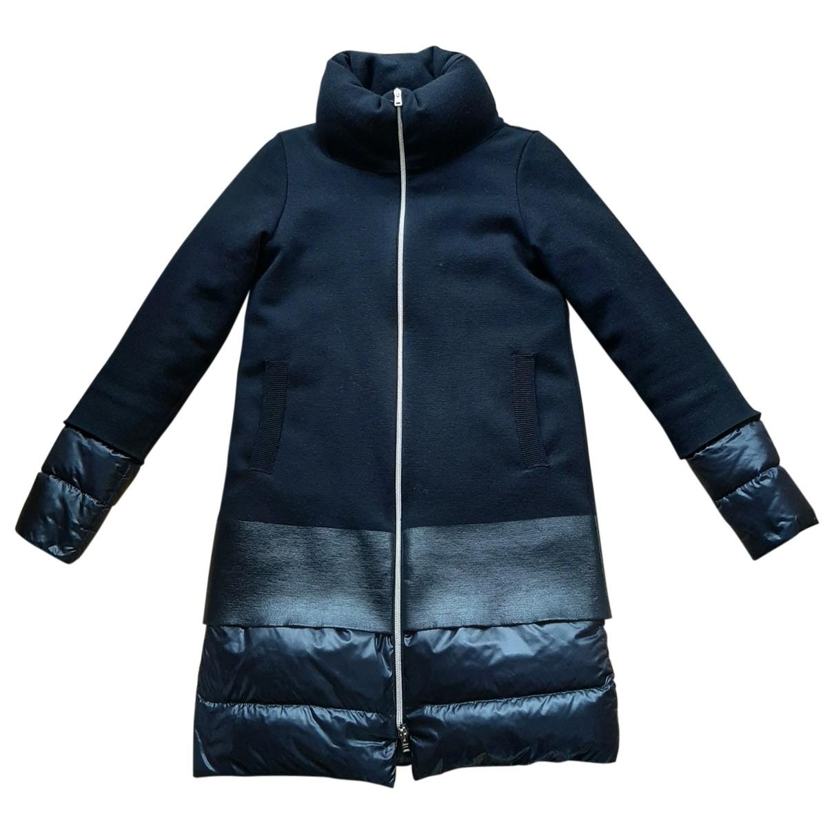 Herno \N Black Wool coat for Women 40 IT