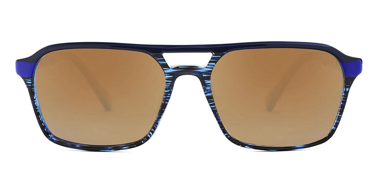 Etnia Barcelona Denali Polarized BL Men's Sunglasses Black Size 55
