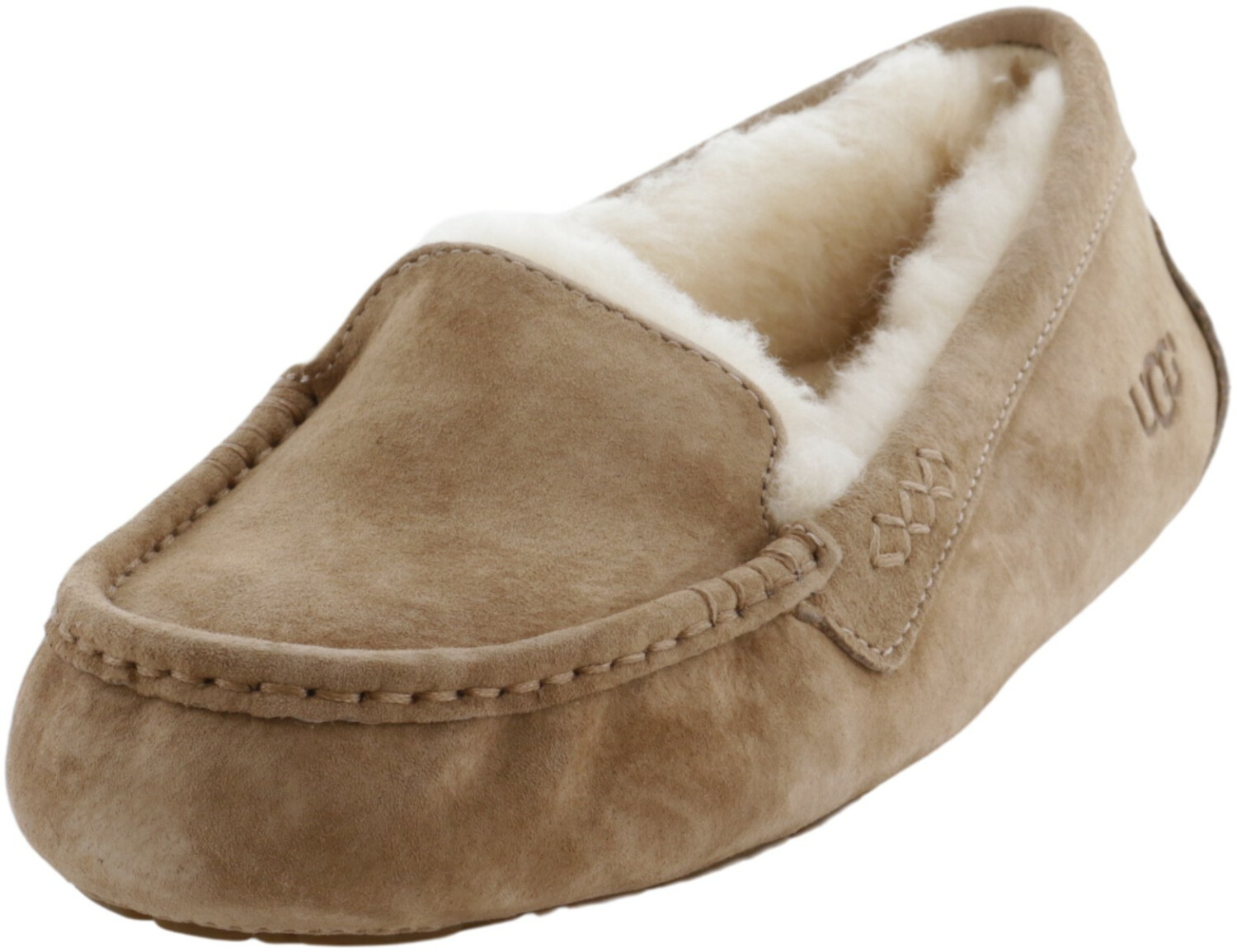 Ugg Women's Ansley Fawn Ankle-High Suede Slipper - 7M
