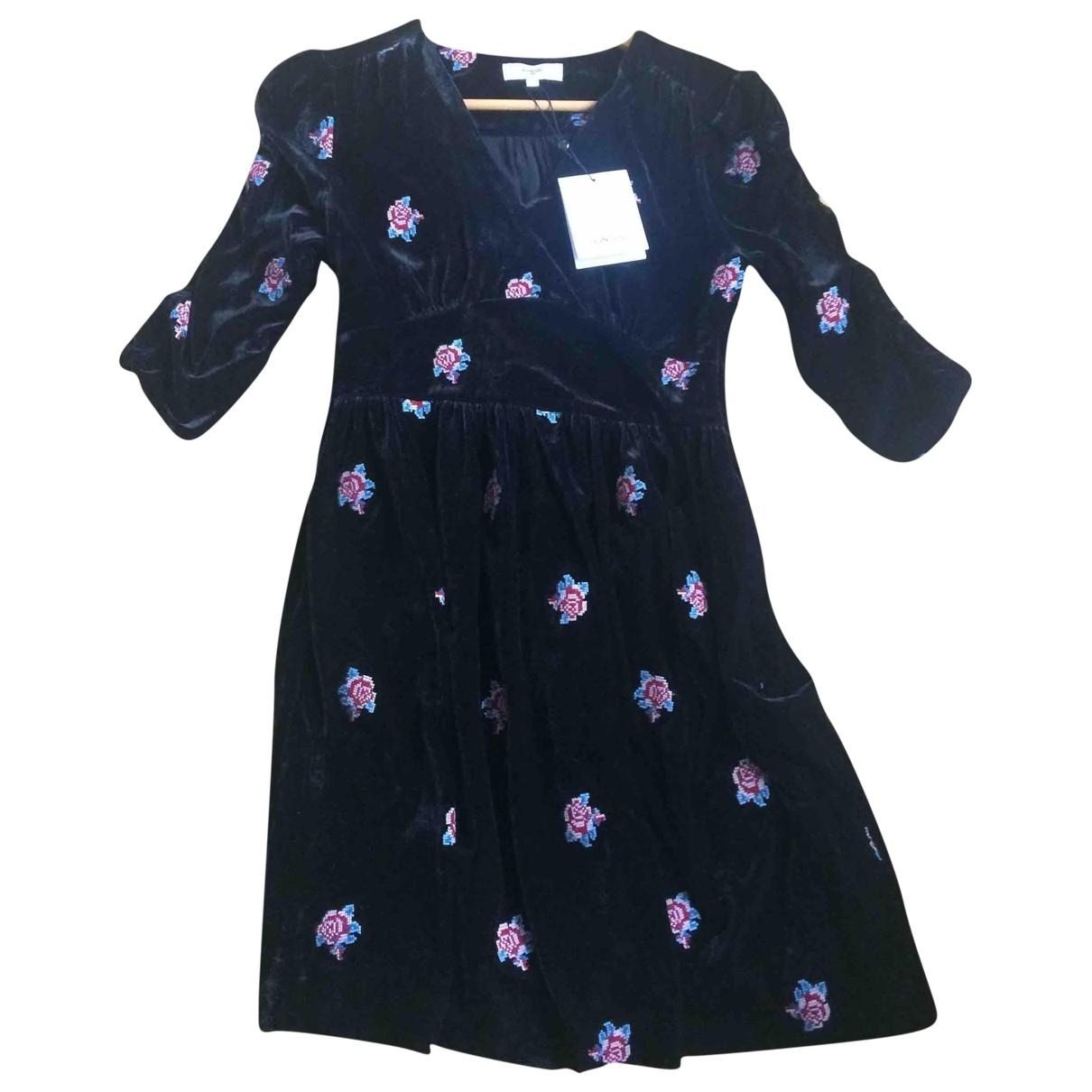 Suncoo \N Kleid in  Schwarz Polyester