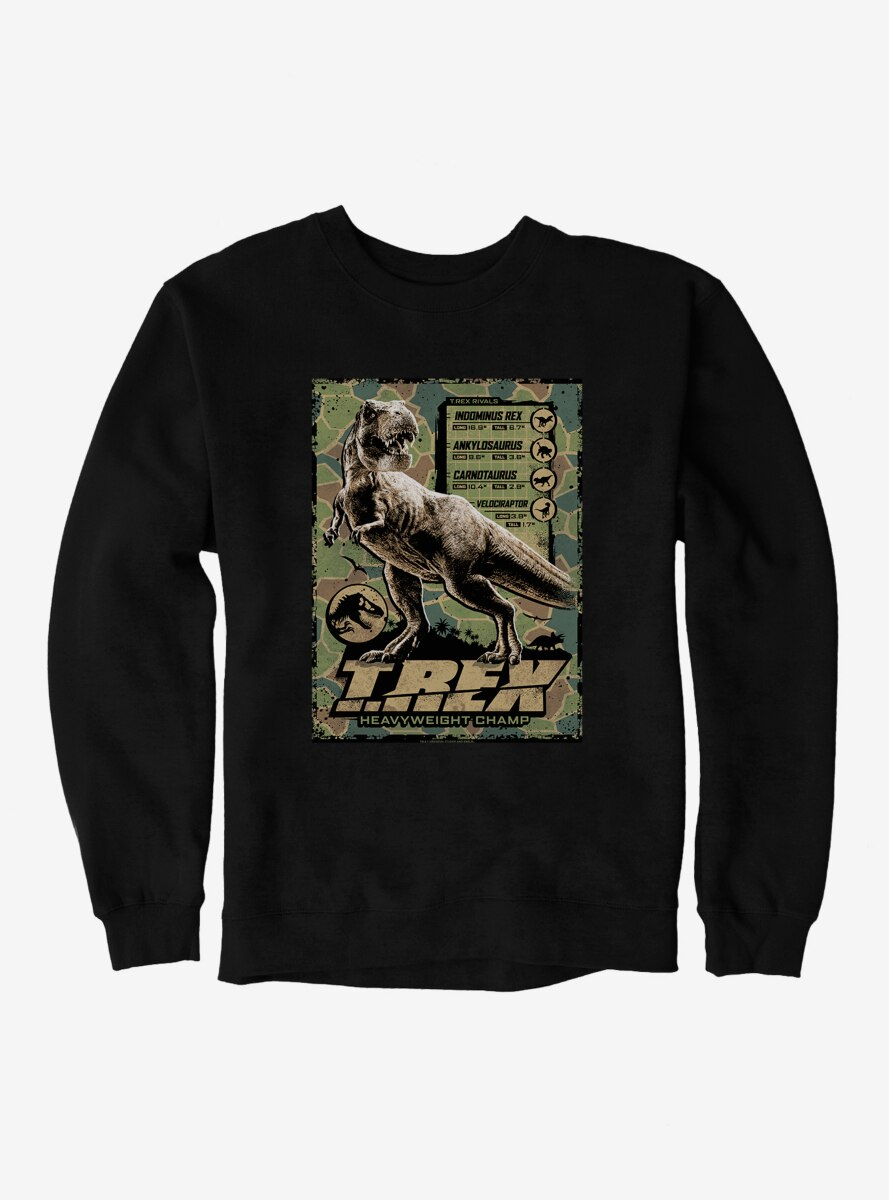 Jurassic World T.Rex Heavyweight Champ Sweatshirt