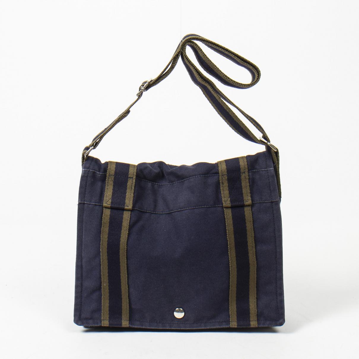 Hermes \N Handtasche in  Blau Leder