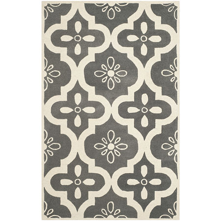 Safavieh Eadaoin Geometric Hand Tufted Wool Rug, One Size , Gray