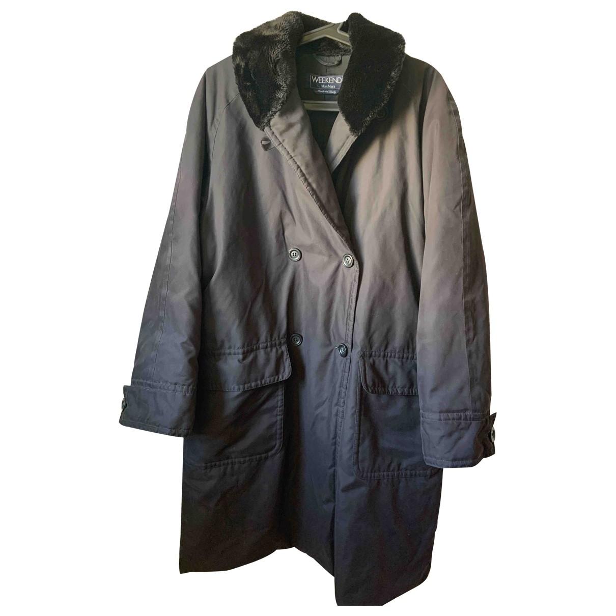 Max Mara Weekend \N Black coat for Women 44 IT