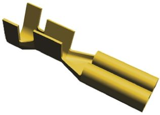 TE Connectivity FASTON .110 Series Crimp Receptacle, 2.79 x 0.79mm, 0.5mm² to 1mm², 20AWG to 17AWG (20)