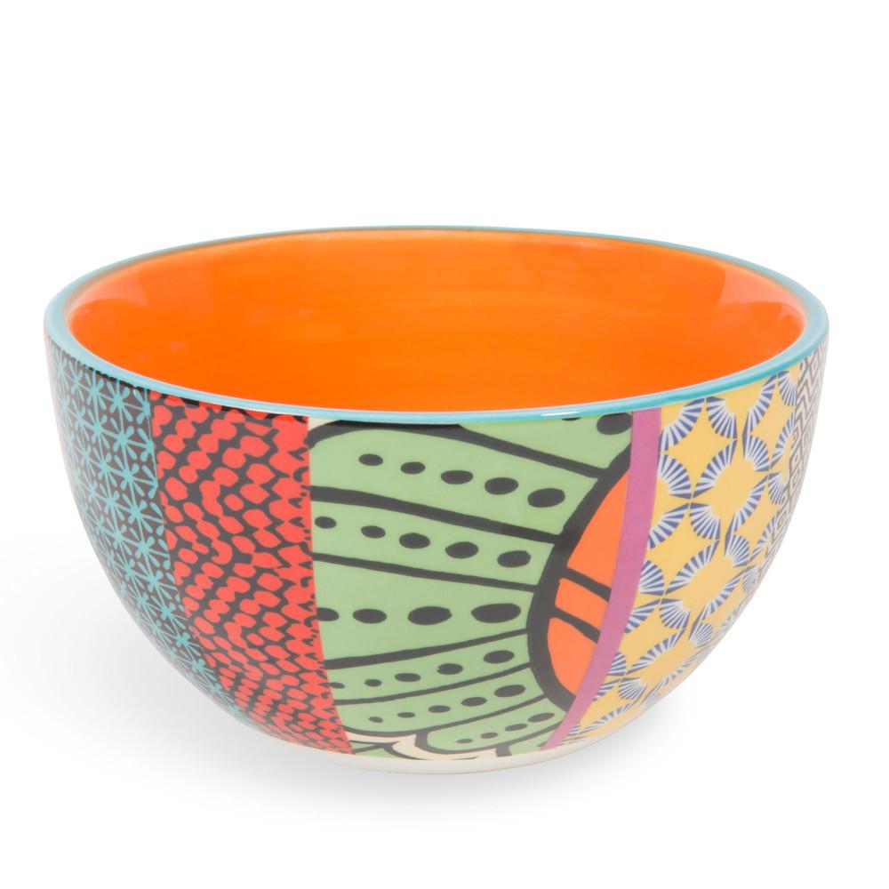 Schale JANEIRO aus Keramik, orange