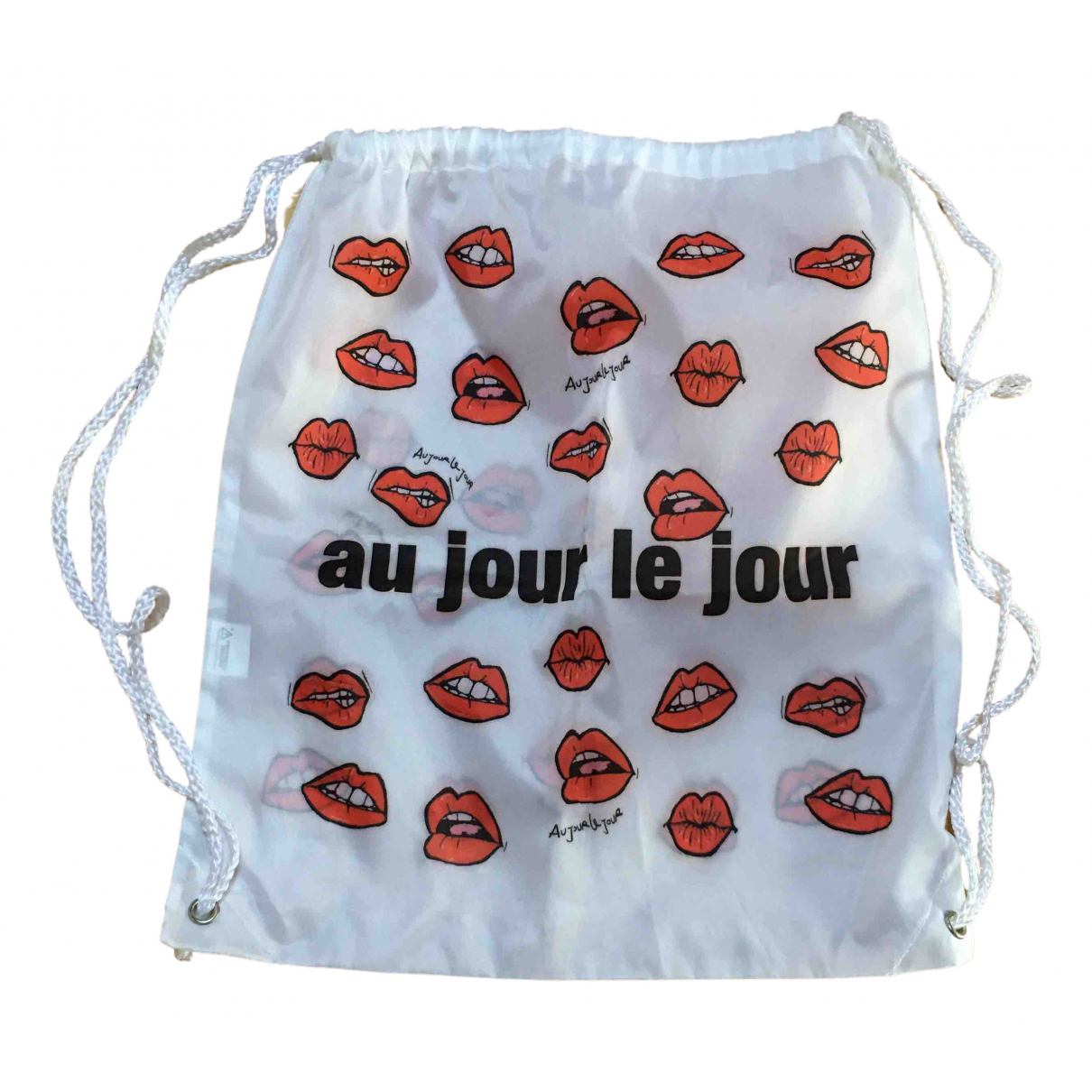 Au Jour Le Jour \N Rucksaecke in  Weiss Polyester