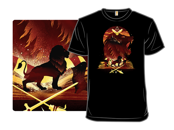 Book Of Lions T Shirt