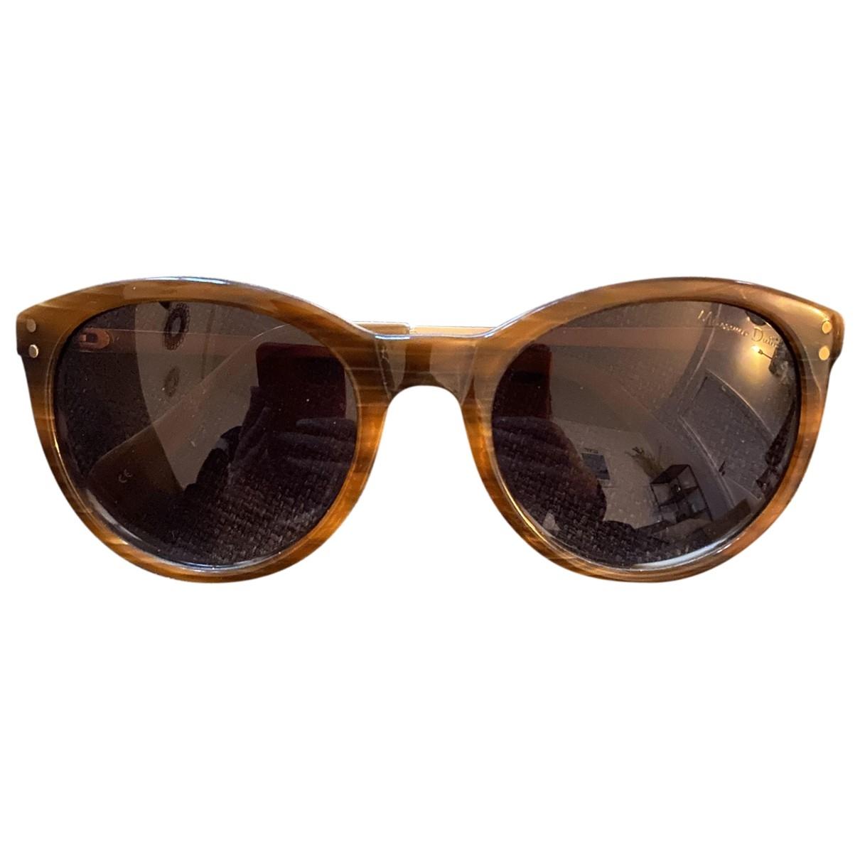 Massimo Dutti \N Brown Sunglasses for Women \N