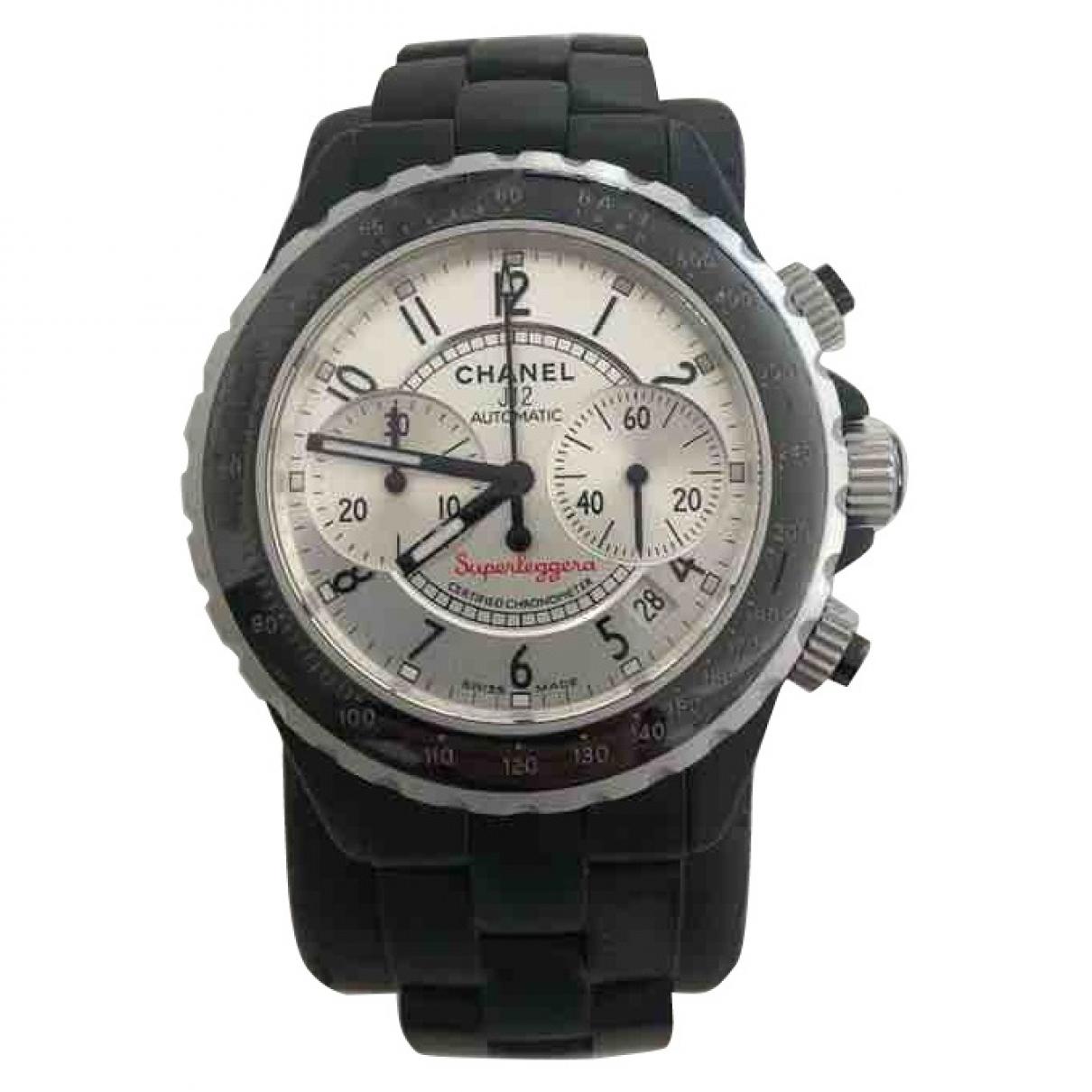 Chanel J12 Automatique Black Ceramic watch for Men \N