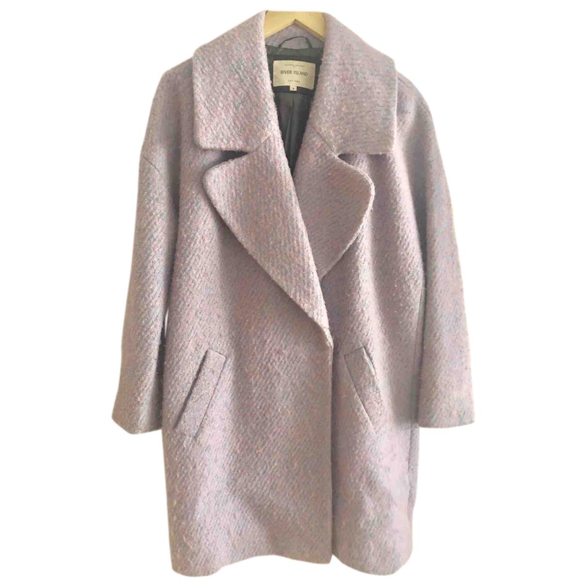 River Island \N Purple coat for Women 8 UK