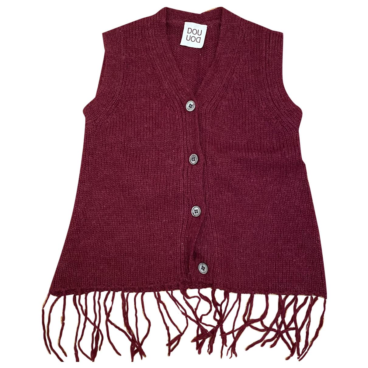 Douuod - Pull   pour enfant en laine - bordeaux