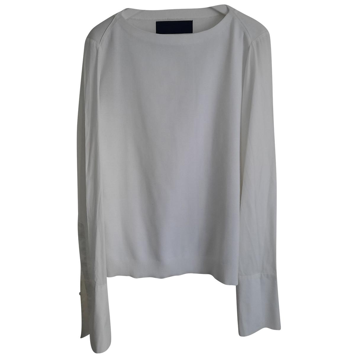Juunj \N White Knitwear & Sweatshirts for Men 48 FR