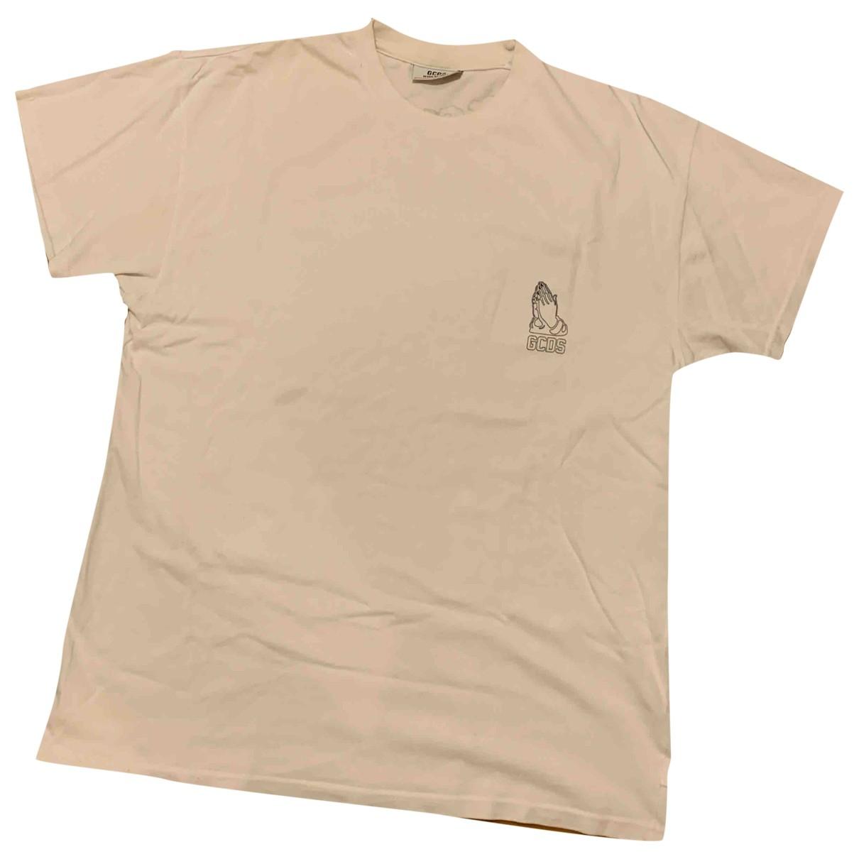 Gcds \N White Cotton T-shirts for Men M International