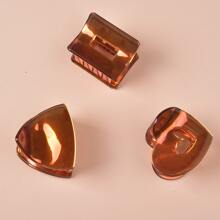 3pcs Holographic Hair Claw